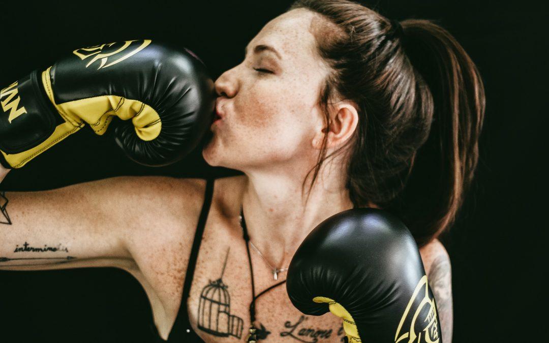 Een positieve mindset en boksen